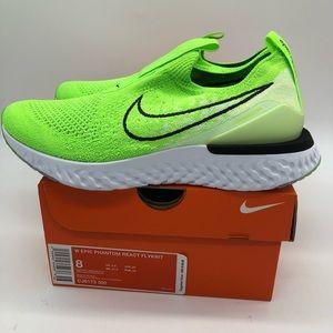 Sz 8 Women's Nike Epic Phantom React Flyknit Shoes